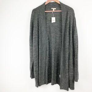NWT Eileen Fisher gray cardigan